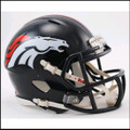 Denver Broncos Mini Speed Football Helmet
