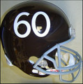 Denver Broncos Throwback 1960-61 & 2009-10 Full Size Replica Helmet