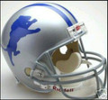 Detroit Lions 1962-68 Throwback Full Size Authentic Helmet