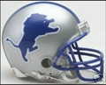 Detroit Lion 1983-02 Throwback Mini Replica Helmet
