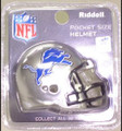 Detroit Lions NFL Pocket Pro Single Football Helmet