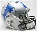 Detroit Lions New 2009 Full Size Authentic Revolution Helmet