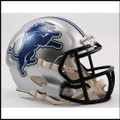 Detroit Lions Mini Speed Football Helmet