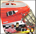 Detroit Red Wings NHL Full Size Street Extreme Youth Goalie Mask