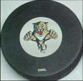 Florida Panthers NHL Logo Puck