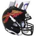 Florida State Seminoles Mini Football Helmet Desk Caddy Black