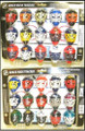Franklin NHL Mini Mask Tracker Set