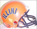 1979 Illinois Riddell NCAA Replica Throwback Mini Helmet