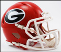 Georgia Bulldogs Mini Speed Helmet