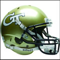 Georgia Tech Yellow Jackets Full XP Replica Football Helmet Schutt