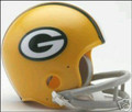 Green Bay Packers 1961-79 Throwback Mini Replica Helmet