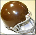 Green Bay Packers Brown Z2B Mini Replica Helmet