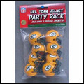 Green Bay Packers Gumball Helmet Party Pack