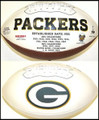 Green Bay Packers Full Size Logo Football