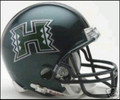 Hawaii Rainbow Warriors Mini Replica Helmet