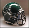 Hawaii Warriors Mini Authentic Schutt Helmet