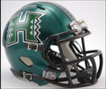 Hawaii Warriors Riddell NCAA Mini Speed Football Helmet