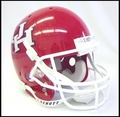 Houston Cougars Full Size Replica Schutt Helmet