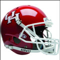 Houston Cougars Full XP Replica Football Helmet Schutt
