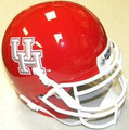 Houston Cougars Mini Authentic Schutt Helmet
