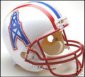 Houston Oilers 1981-1996 Throwback Full Size Replica Helmet