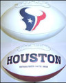 Houston Texans Full Size Logo Football