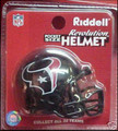 Houston Texans NFL Pocket Pro Single Football Helmet