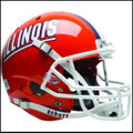 Illinois Fighting Illini Full XP Replica Football Helmet Schutt