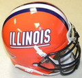 Illinois Fighting Illini Mini Authentic Schutt Helmet