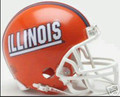 Illinois Fighting Illini Mini Replica Helmet