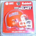 Illinois Fighting Illini NCAA Pocket Pro Single Football Helmet