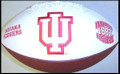 Indiana Hoosiers Full Size Signature Embroidered Series Football