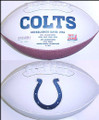 Indianapolis Colts Full Size Logo Football