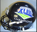 2009 Super Bowl XLIII 43 Steelers Champion Mini Replica Revolution