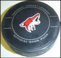 Inglasco Phoenix Coyotes 2011 Official Game Puck