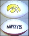 Iowa Hawkeyes Full Size Signature Embroidered Series Football