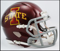 Iowa St Cyclones Riddell NCAA Mini Speed Football Helmets