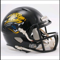 Jacksonville Jaguars 1995-2012 Throwback Mini Speed Football Helmet