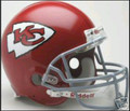 Kansas City Chiefs 1963-73 Throwback Full Size Authentic Helmet