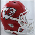 Kansas City Chiefs Authentic Revolution Speed Football Helmet