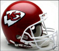Kansas City Chiefs Full Size Authentic Helmet