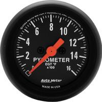 Autometer Z-Series 0-1600 Pyrometer