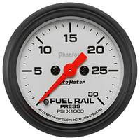 Autometer Phantom 0-30K Rail Pressure Gauge