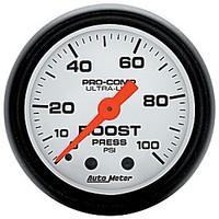 Autometer Phantom 0-100PSI Boost Gauge