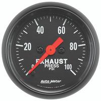 Autometer Z-Series 0-100PSI Drive Pressure Gauge