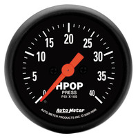 Autometer Z-Series HPOP Pressure Gauge