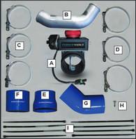 PowerHalt Positive Air Shut Off - 13-15 Dodge Cummins - Manual