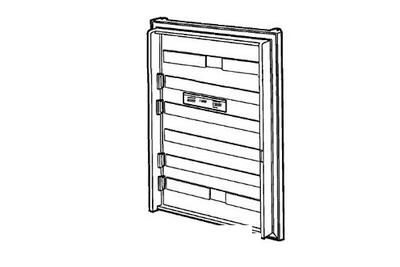 Dometic Refrigerator Door Replacement 2932563055