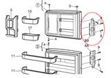 Dometic Parts Door Handle 3850558028