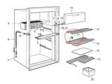 Dometic Refrigerator Shelf Support 2932668011